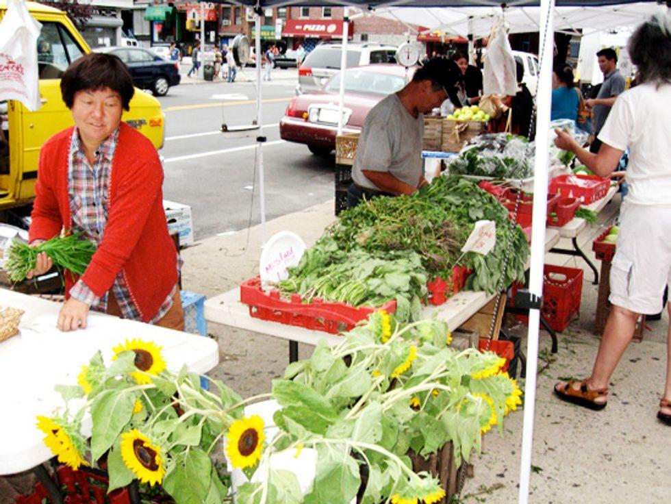 I Love My New Farmer's Market!