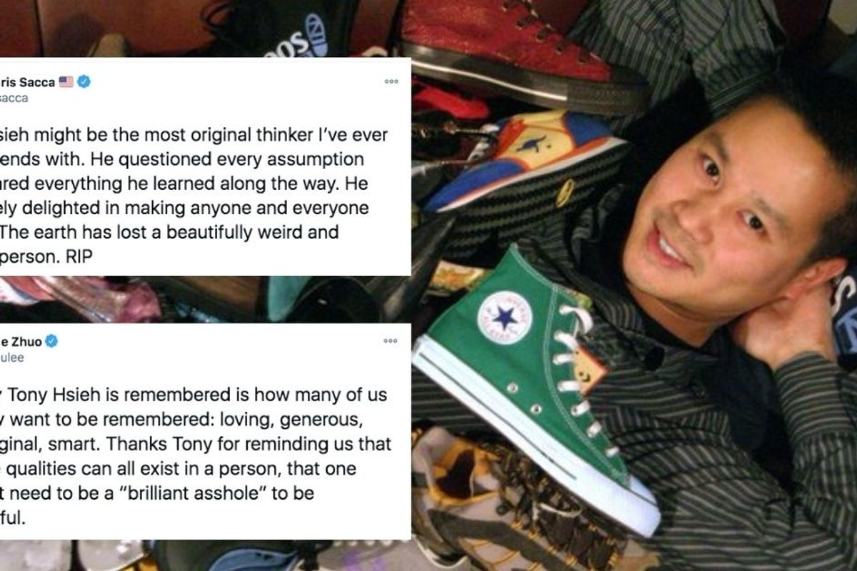Tony Hsieh was living proof that you can be a good human being and successful in business