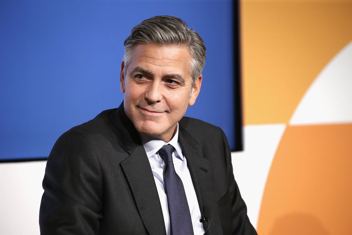George Clooney Has Basically Used a Vacuum Cleaner to Cut His Own Hair For Years