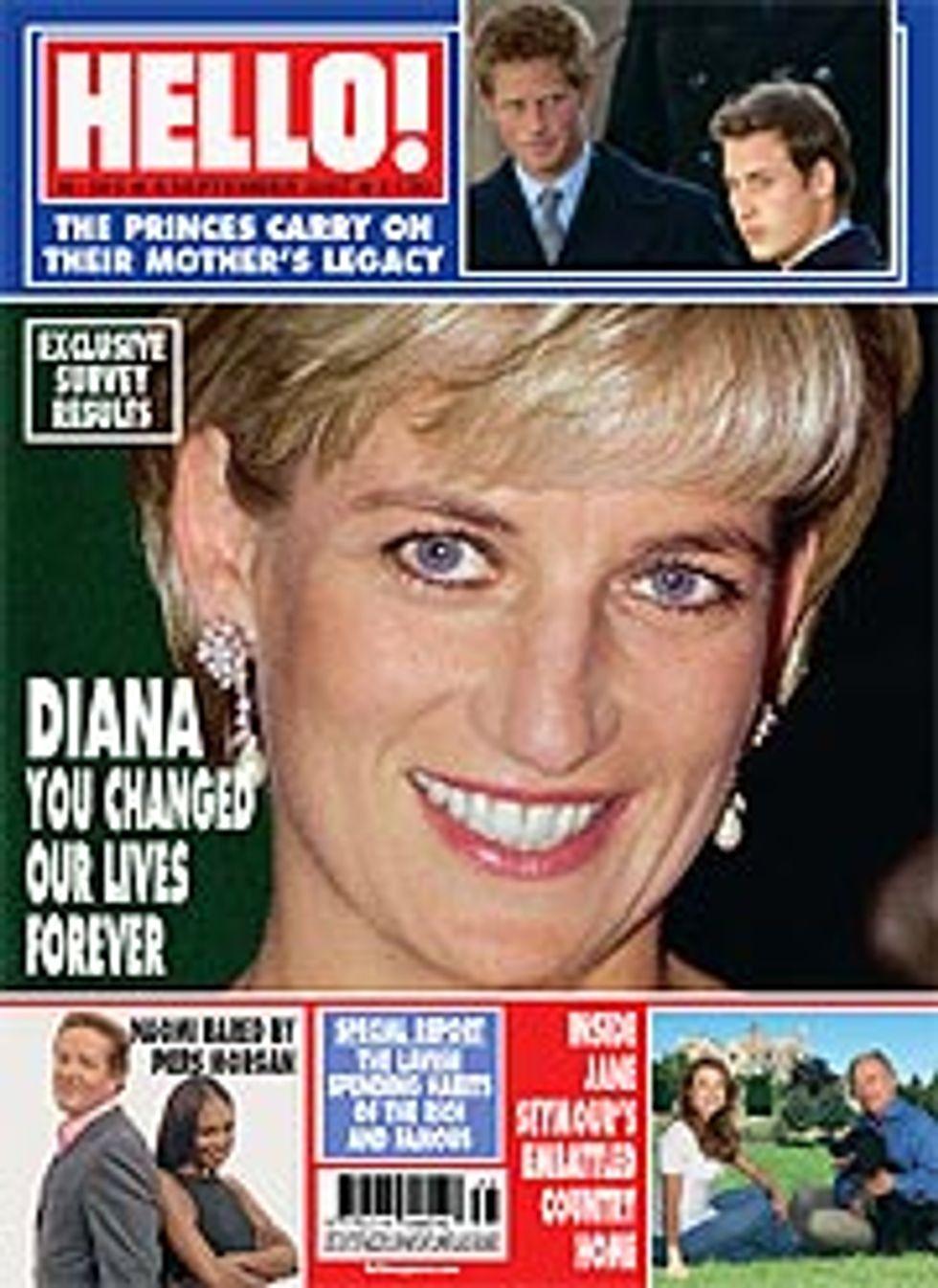 Diana is Still #1 in UK
