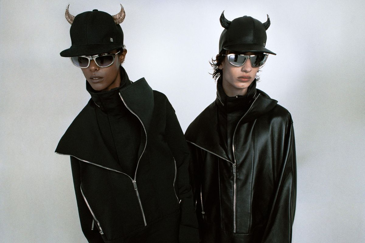 Those Horned Givenchy Hats Just Arrived Early