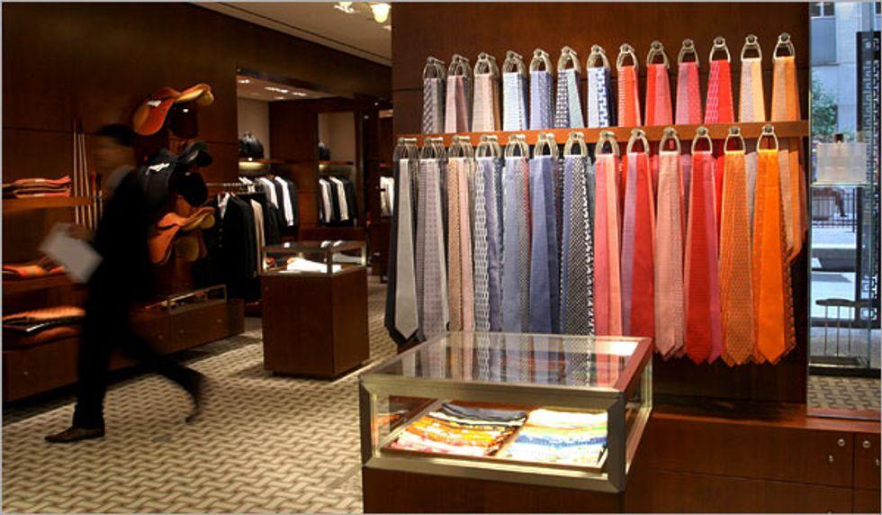 Shop of the Week: Hermes Wall Street