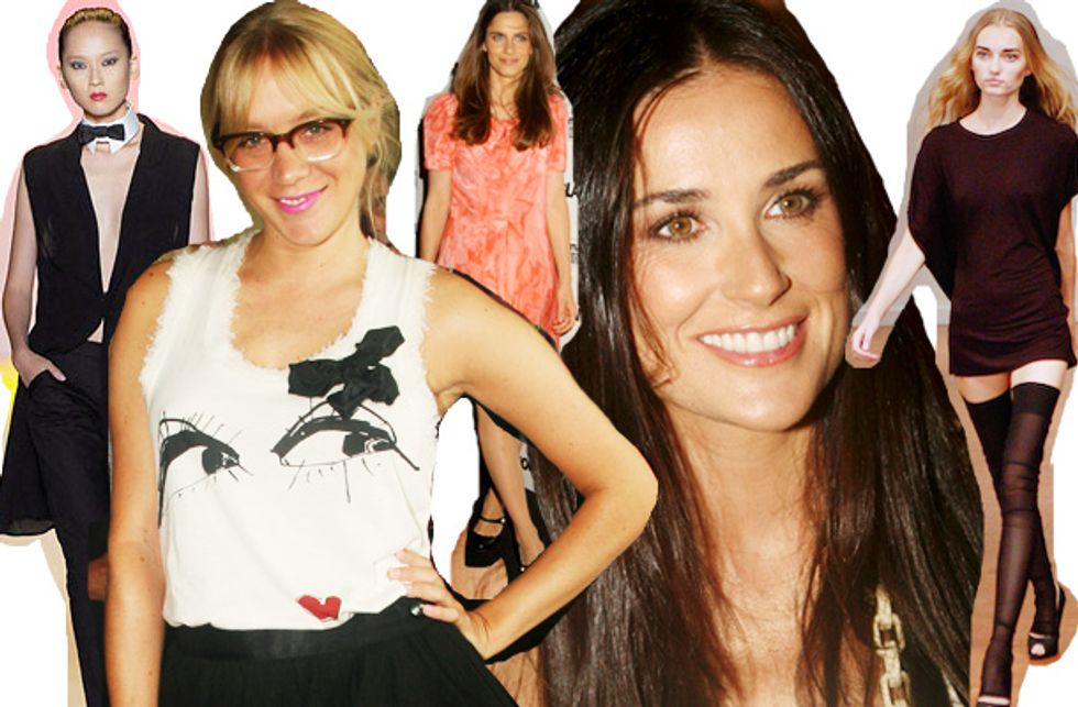 Fashion Week Mouth Off: A Few of My Favorite Things... and Amanda Peet