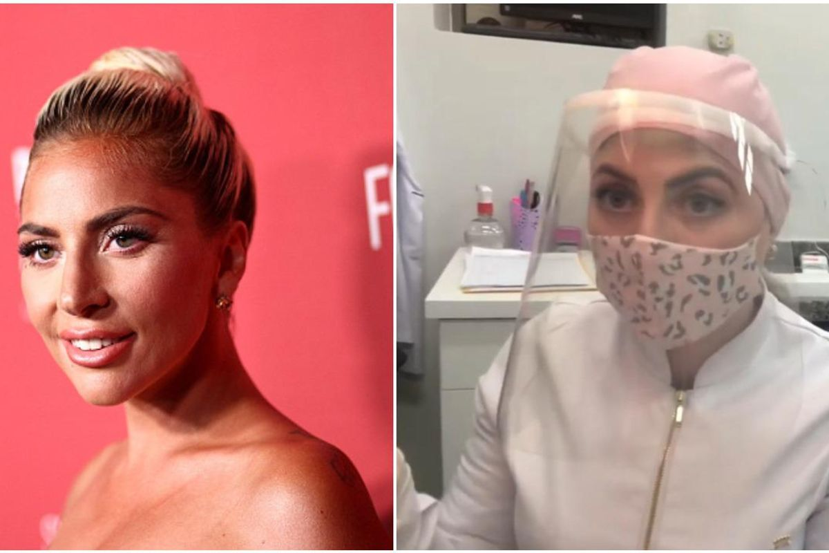 Lady Gaga Fans Can't Handle Her Viral Dentist Doppelgänger