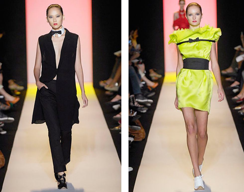 The Bunny Report Takes on Fashion Week: The Alexandre Herchcovitch Show