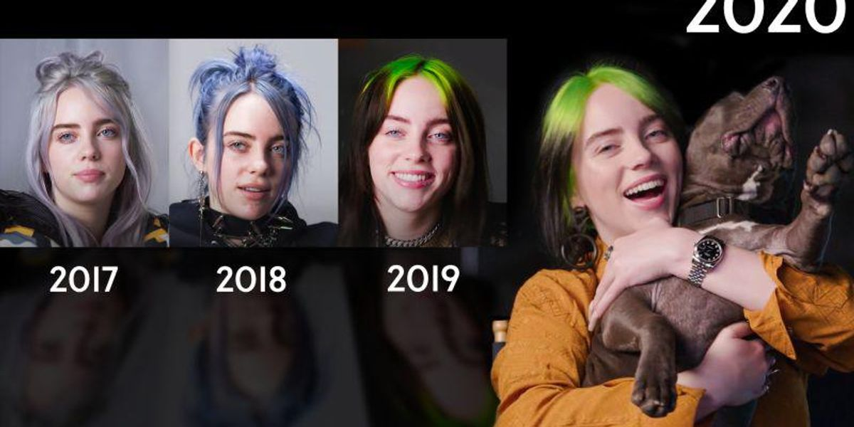 Billie Eilish Shares Wisdom With Three Of Her Past Selves