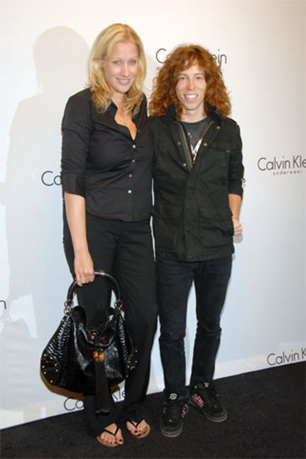 Cute Couples of Fashion Week: Amy Sacco and Shaun White