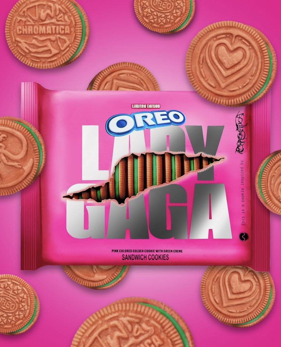 Hey Oreo Lovers, Lady Gaga Will Be Treating You With Her Chromatica Themed Cookies Totally Worth A Bite