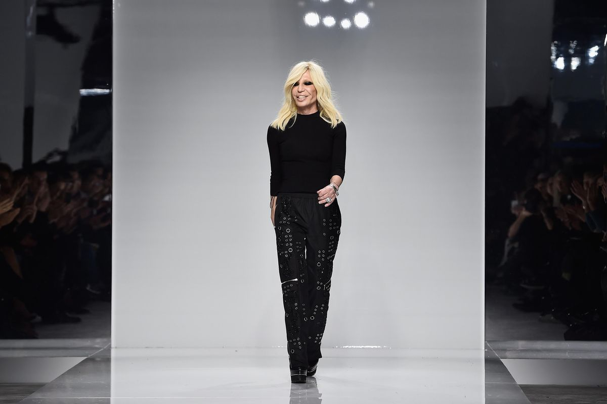 Donatella Versace Reveals Her First-Ever Digital Alter Ego