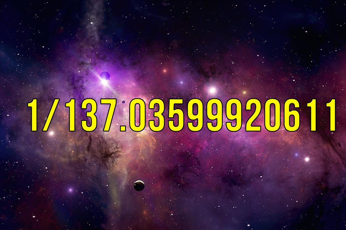 Scientists find the  magic number  that links forces of the universe