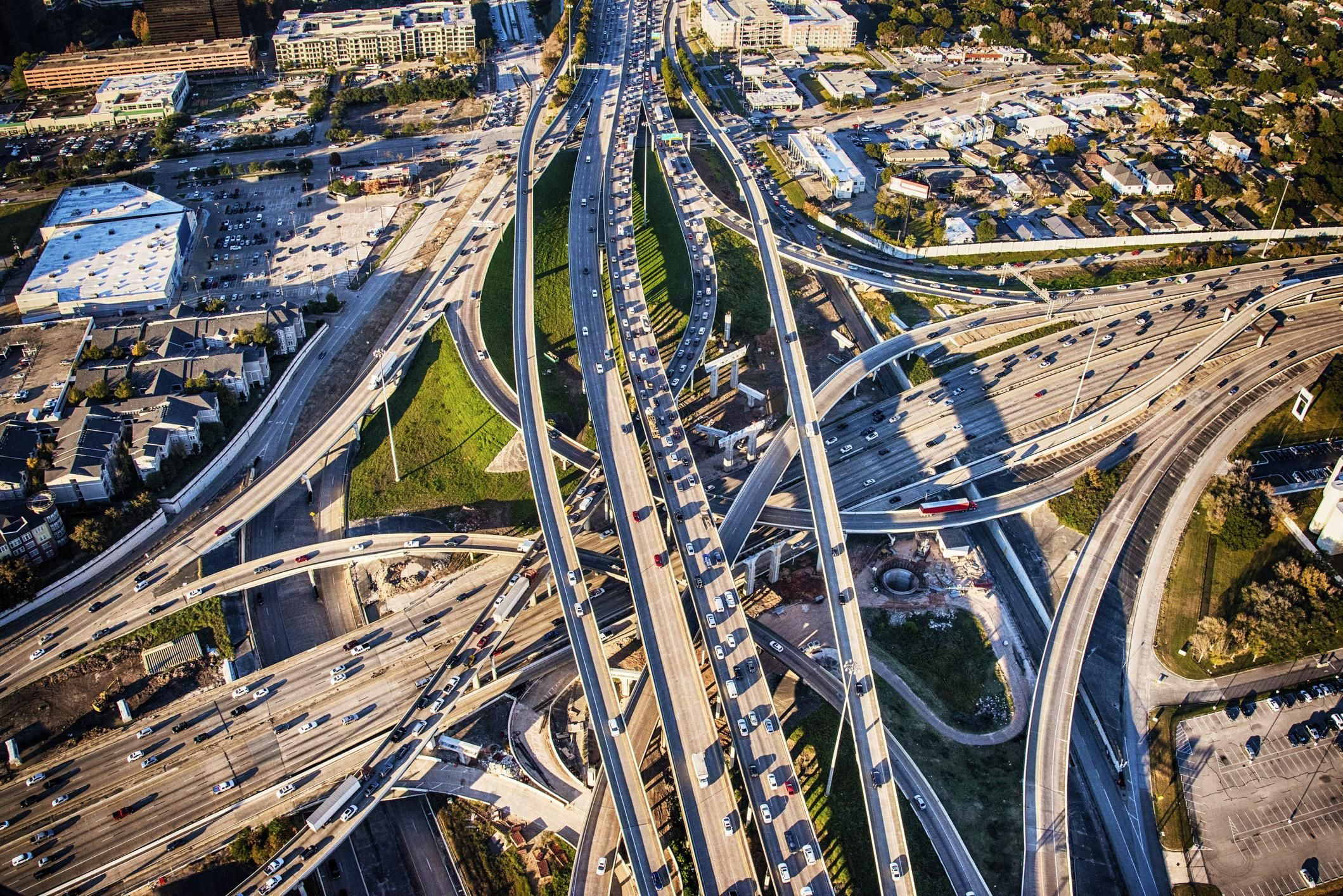 Freeway from above