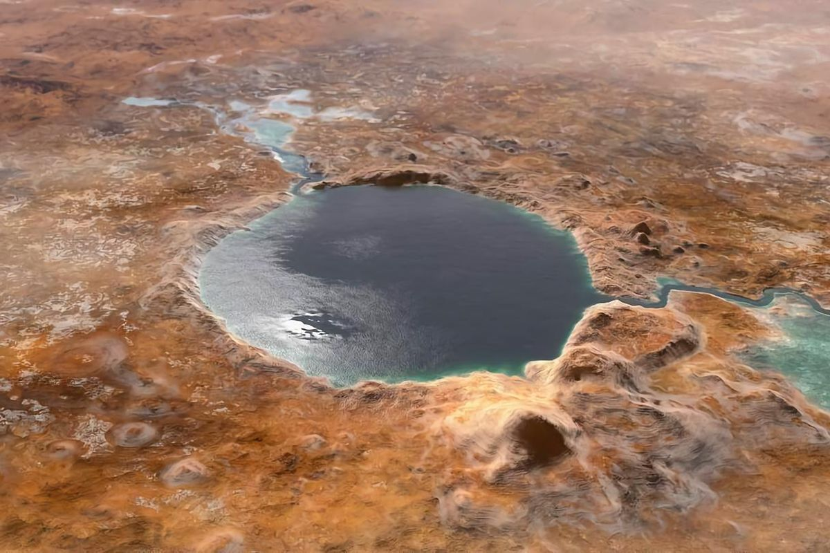 A new system separates oxygen and hydrogen from Mars' water