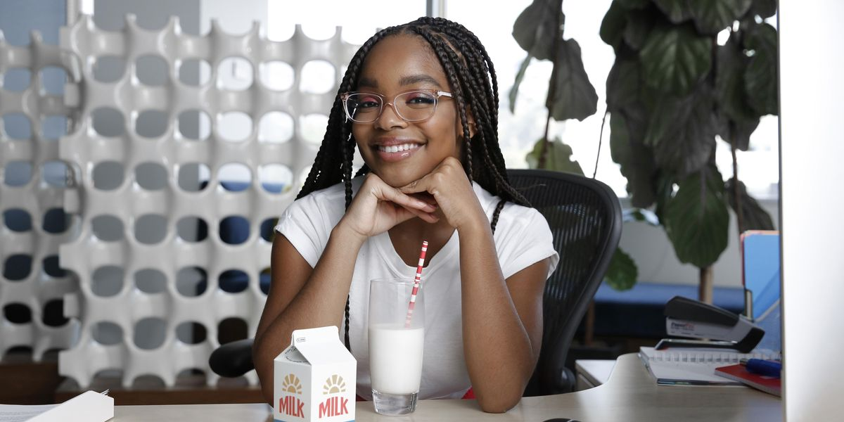 Marsai Martin Is Hollywood's Youngest Executive Producer