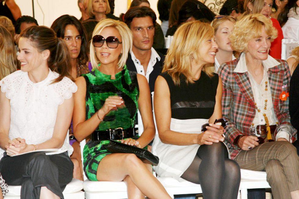 Blonde Bombshells of Fashion Week