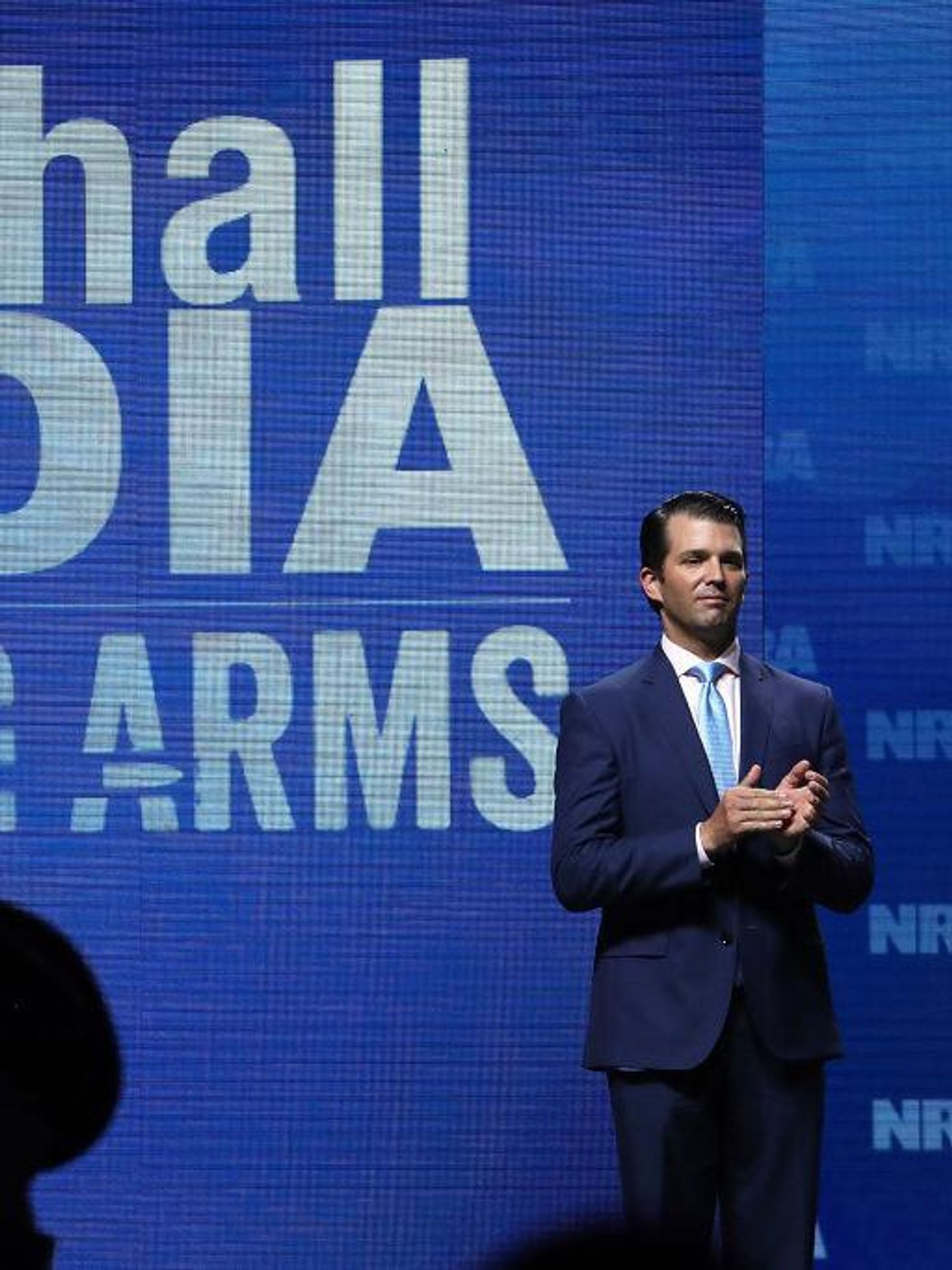 Report: Donald Trump Jr. could challenge Wayne LaPierre for leadership of the NRA