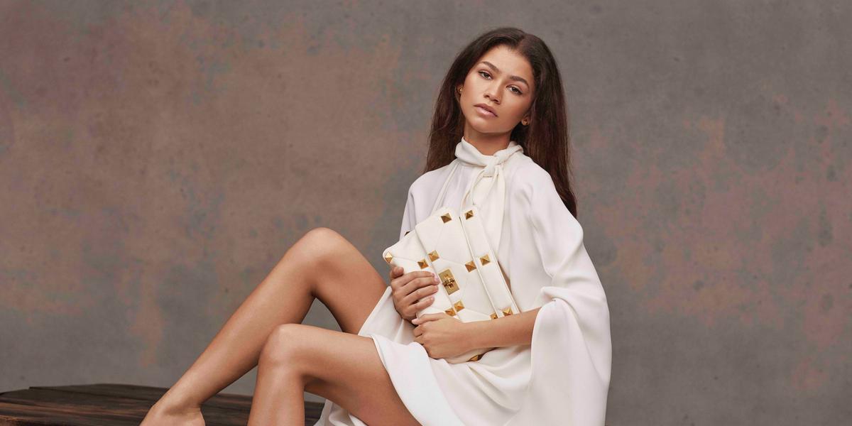Zendaya Stuns in Her First Valentino Ads