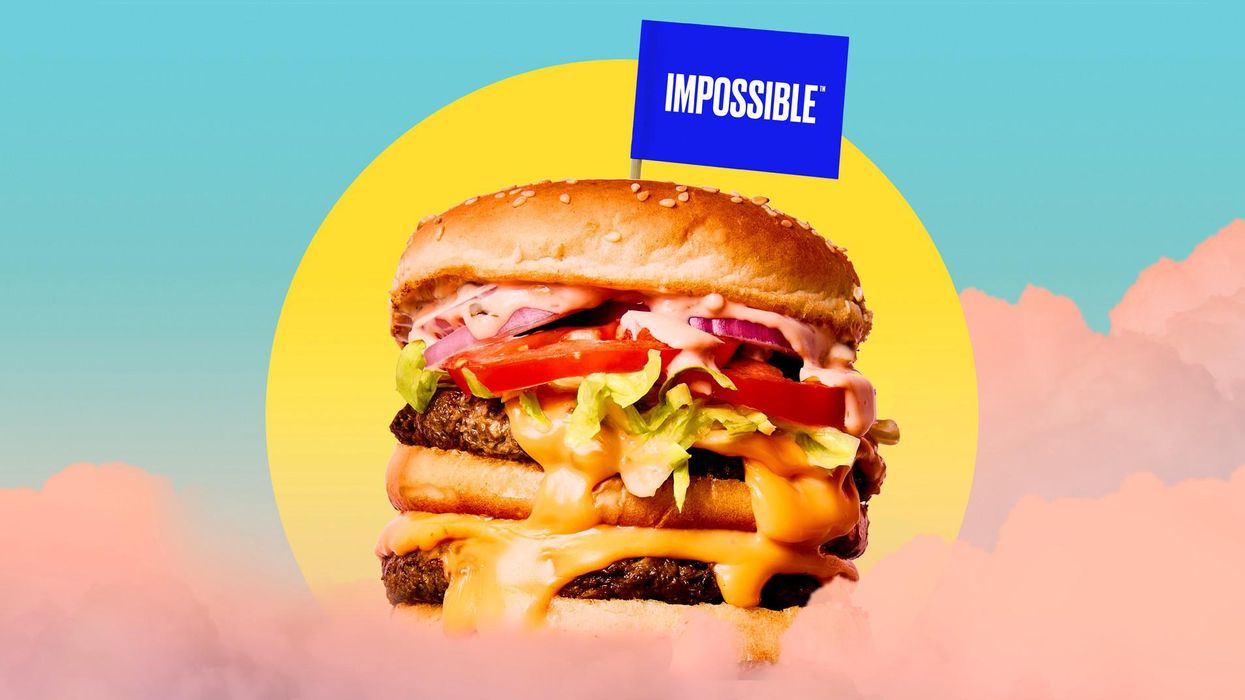 A meat-free world by 2035?  Totally doable,  says Impossible Foods CEO