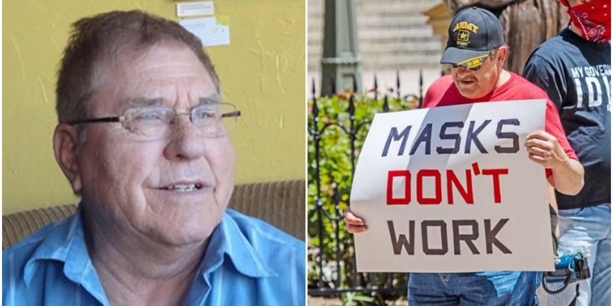 The obituary for a man who died of COVID-19 takes aim at anti-maskers