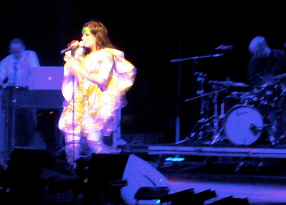 Bjork Live at Madison Square Garden