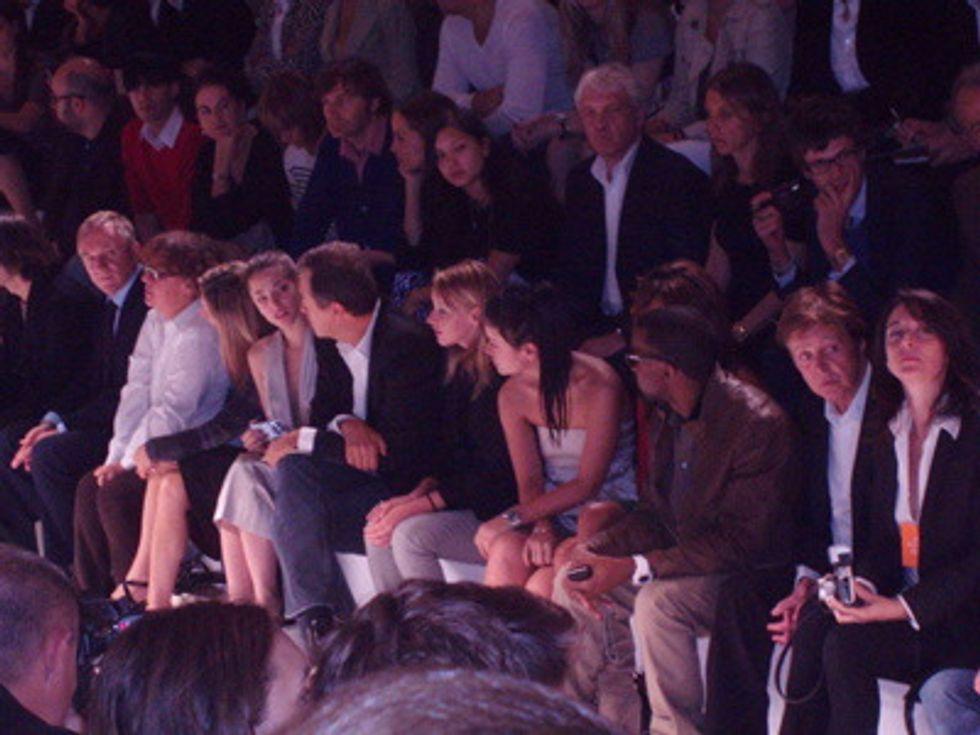 Mr. Mickey Takes on Paris Fashion Week: Stella McCartney
