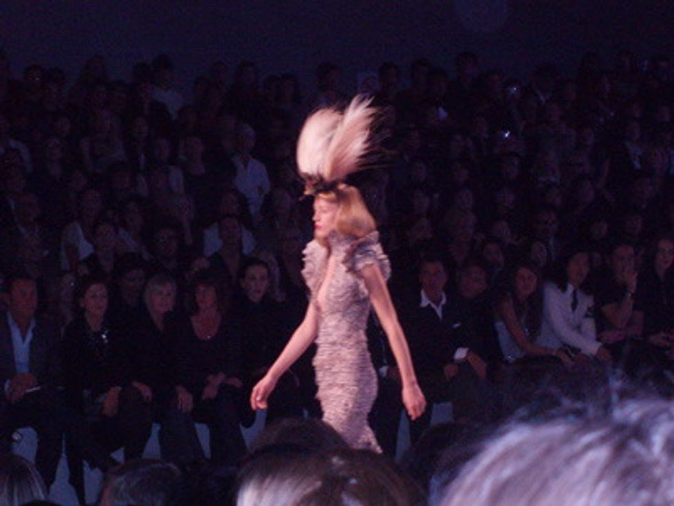 Mr. Mickey Takes on Paris Fashion Week: Alexander McQueen