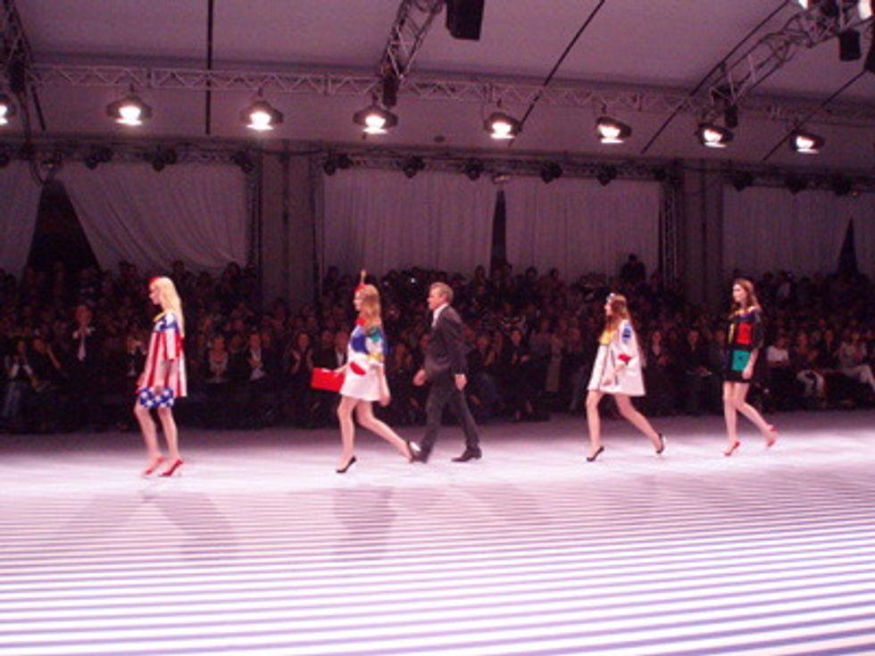 Mr. Mickey Takes on Paris Fashion Week: Jean Charles de Castebajac