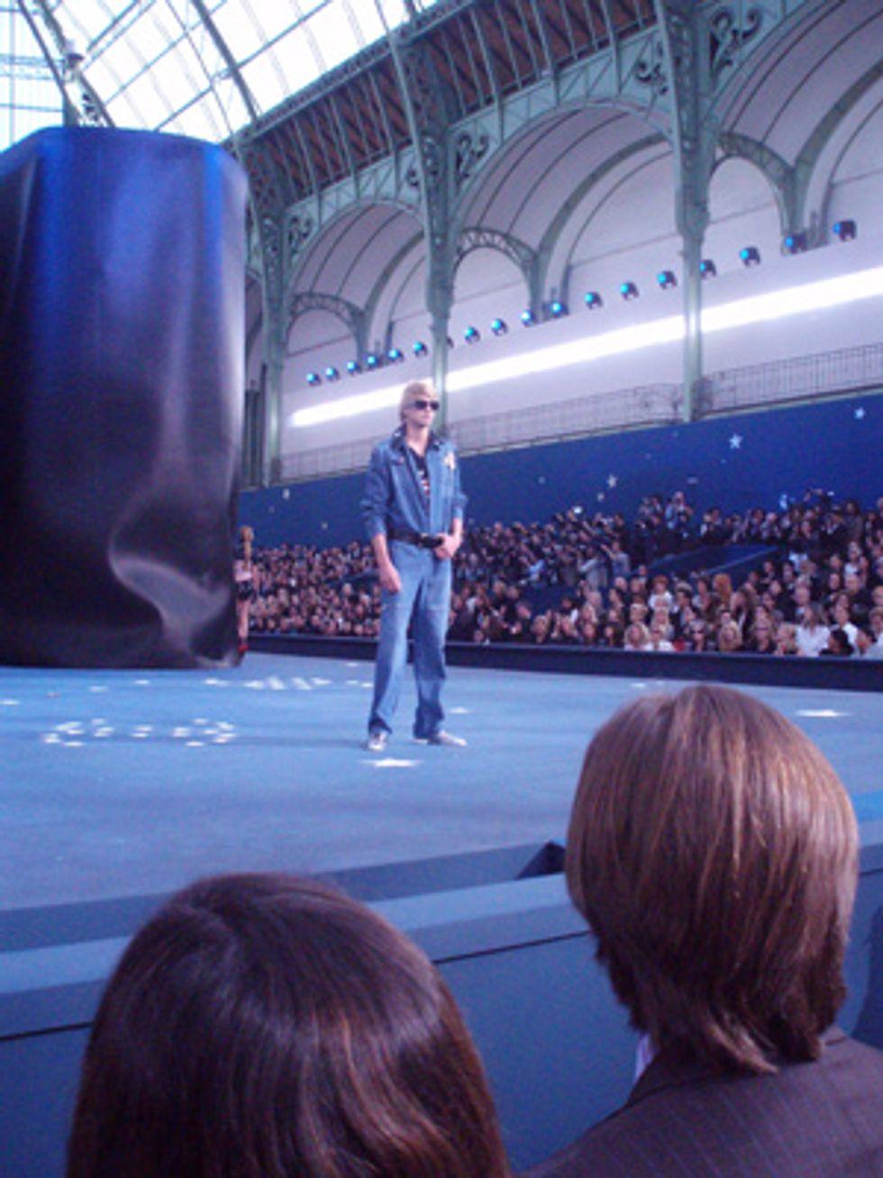 Mr. Mickey Takes on Paris Fashion Week: Chanel Men's