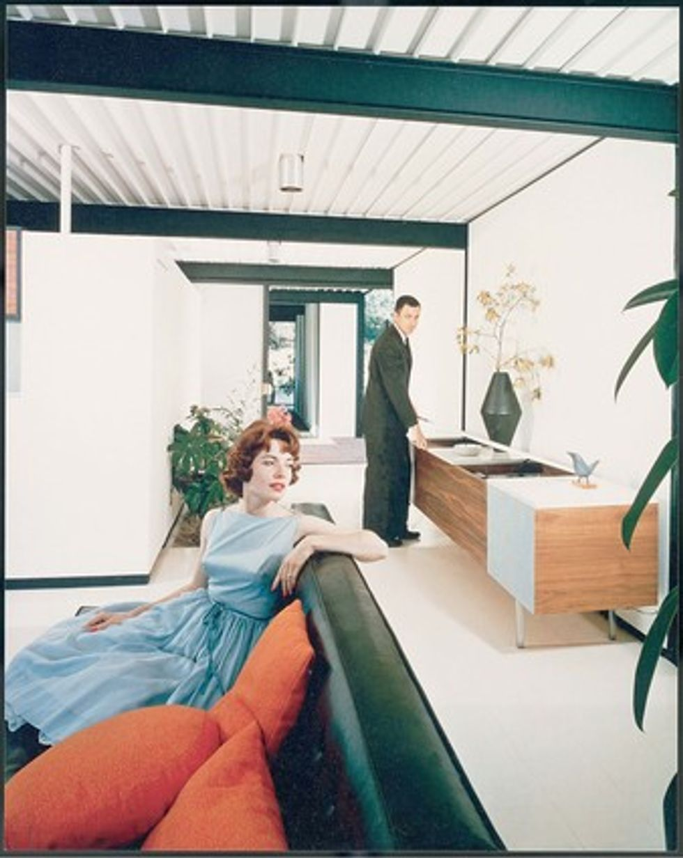 """Cool Julius Shulman Photo in """"Birth of the Cool"""" Show at OCMA"""