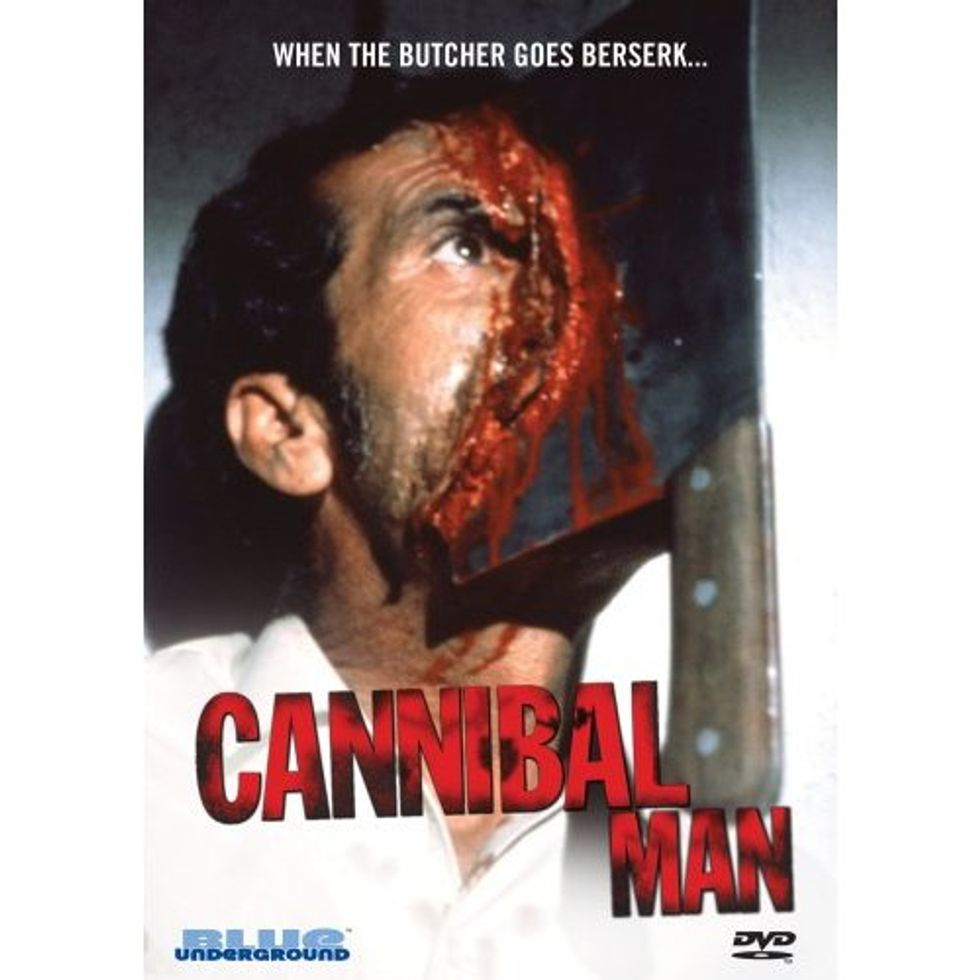 Best DVD Cover Art: Cannibal Man