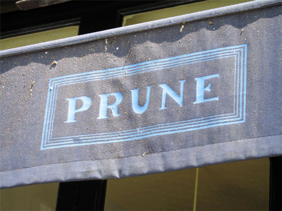 Restaurant of the Week (Don't Forget Edition): Prune
