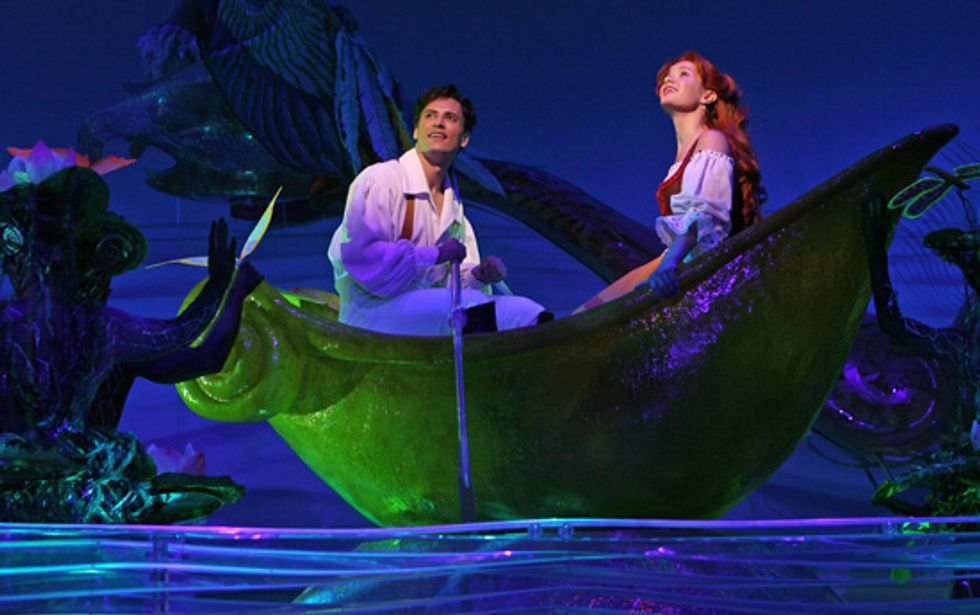 The Little Mermaid Comes to Broadway!