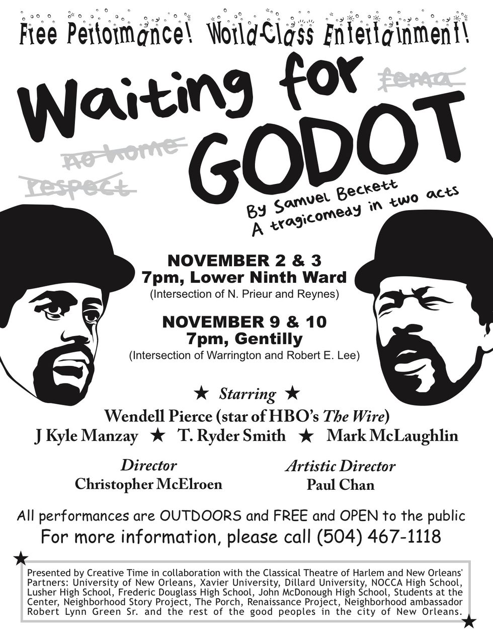 Godot Comes to New Orleans