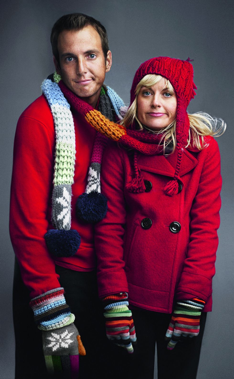 Amy Poehler, Will Arnett, John Krasinski Cute Up the Gap