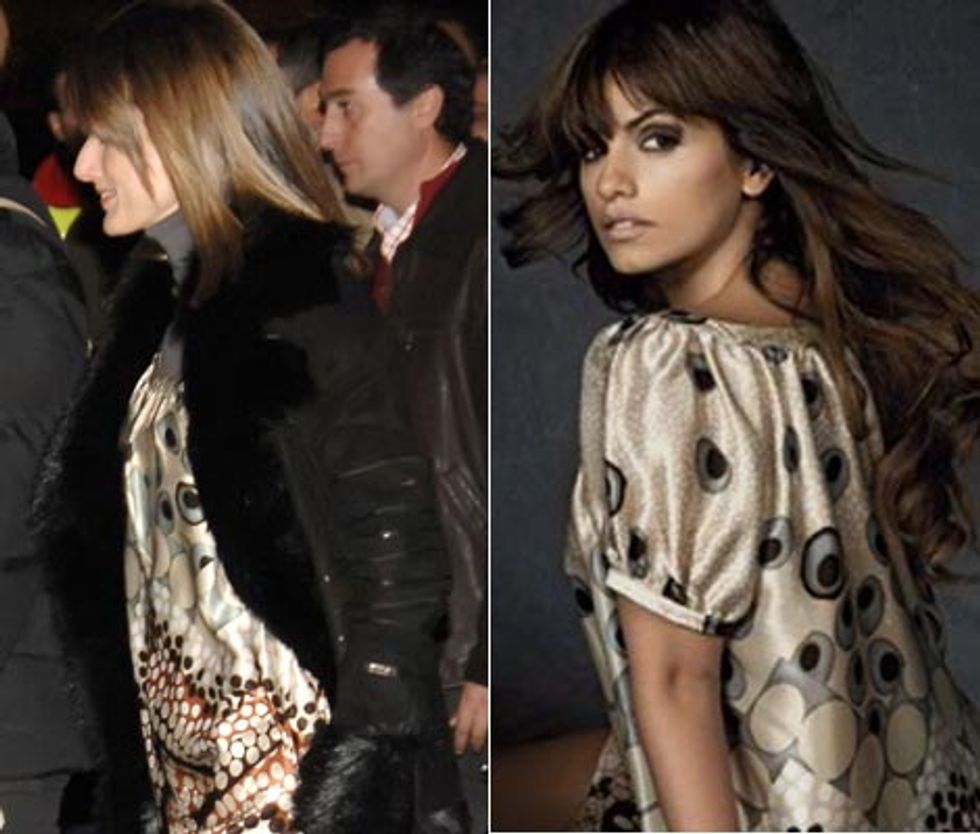 The Princess of Asturias wears Penelope & Monica Cruz for MNG