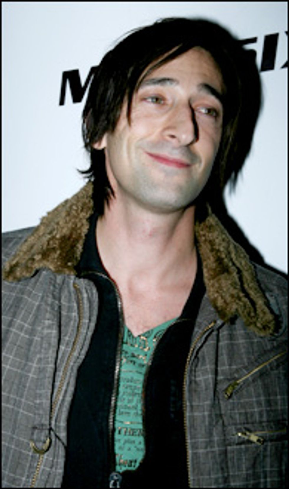 Adrien Brody and PAPER Host Miss Sixty/ENERGIE Story Opening