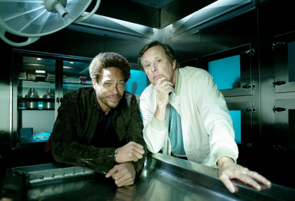 A Q&A With CSI Guest-Director William Friedkin and Actor Gary Dourdan