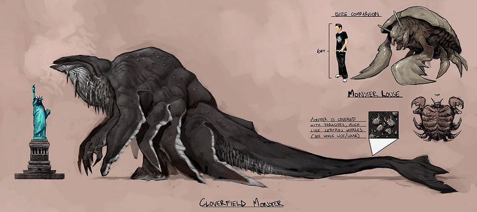 The Monster From Cloverfield!
