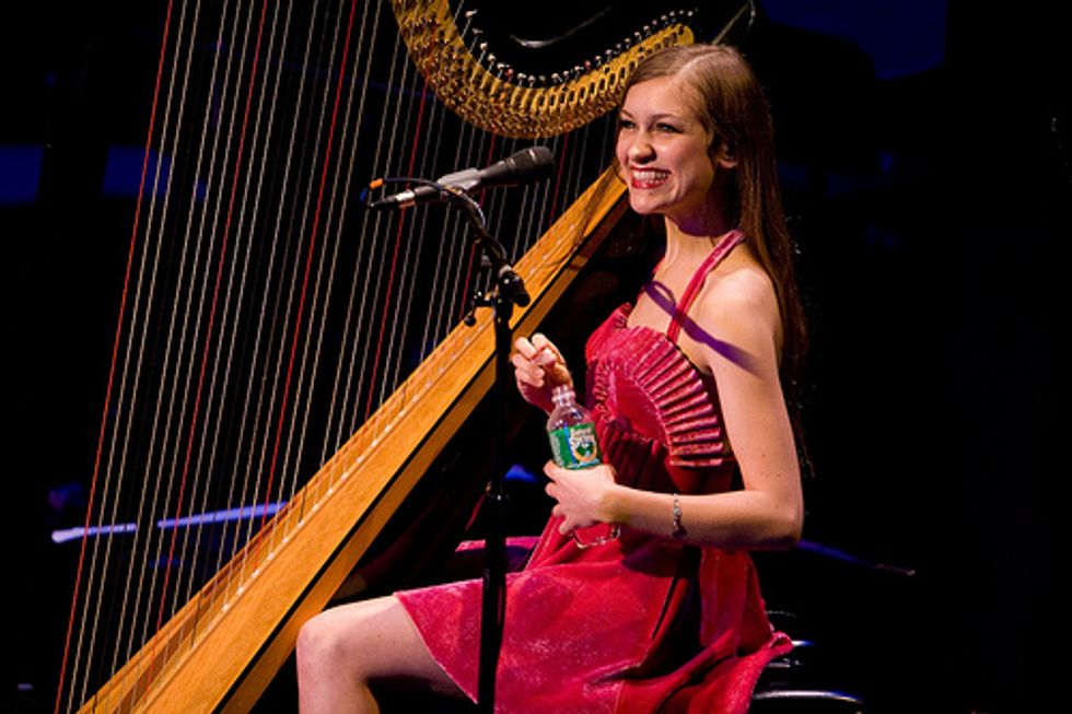 Joanna Newsom Does BAM -- and Does It Well