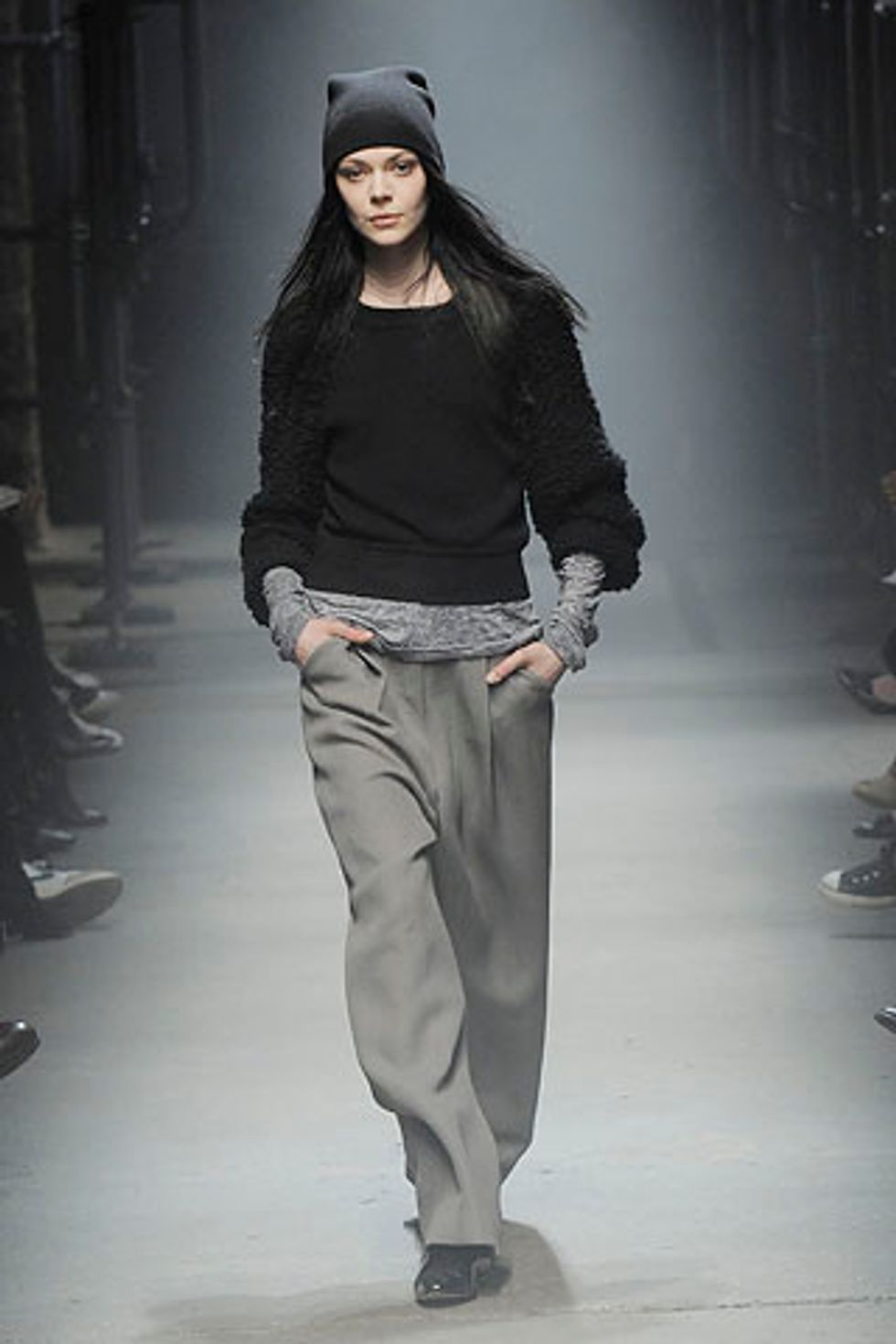 Some Fun American Sportswear (Among the Rock 'n' Roll Separates) at Alexander Wang