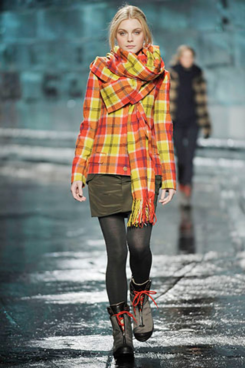 Mad for Plaid at Y-3