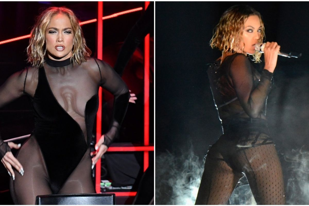 Jennifer Lopez Accused of Ripping Off Beyoncé With AMAs Performance