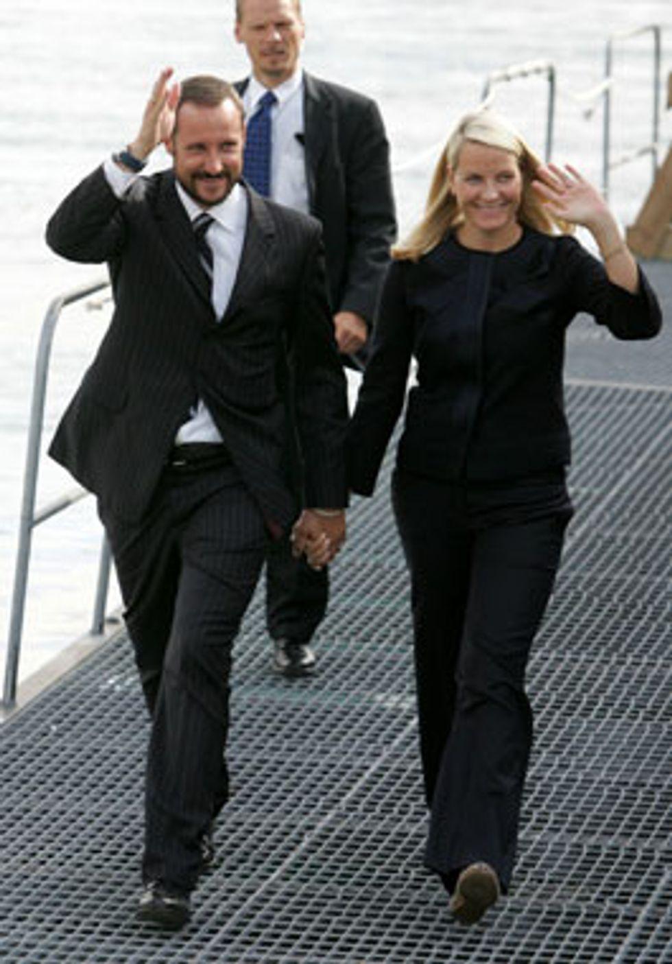 The Norwegian Crown Princely Couple on Tour