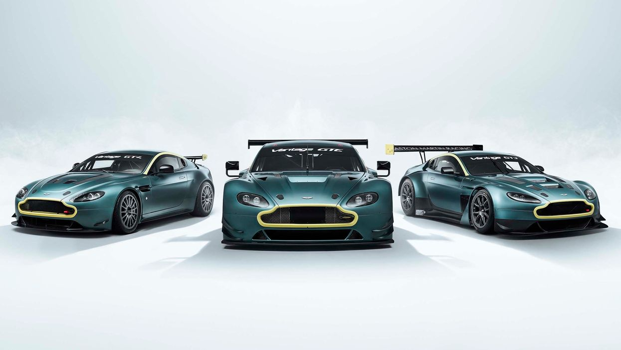 Aston Martin Vantage Legacy Collection celebrates successful modern racing history