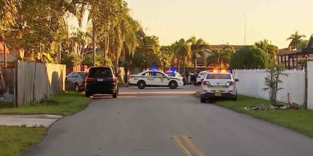 Police: Boy, 13, home alone calls parents about man breaking in. Boy's dad, an off-duty cop, arrives and fatally shoots alleged intruder.