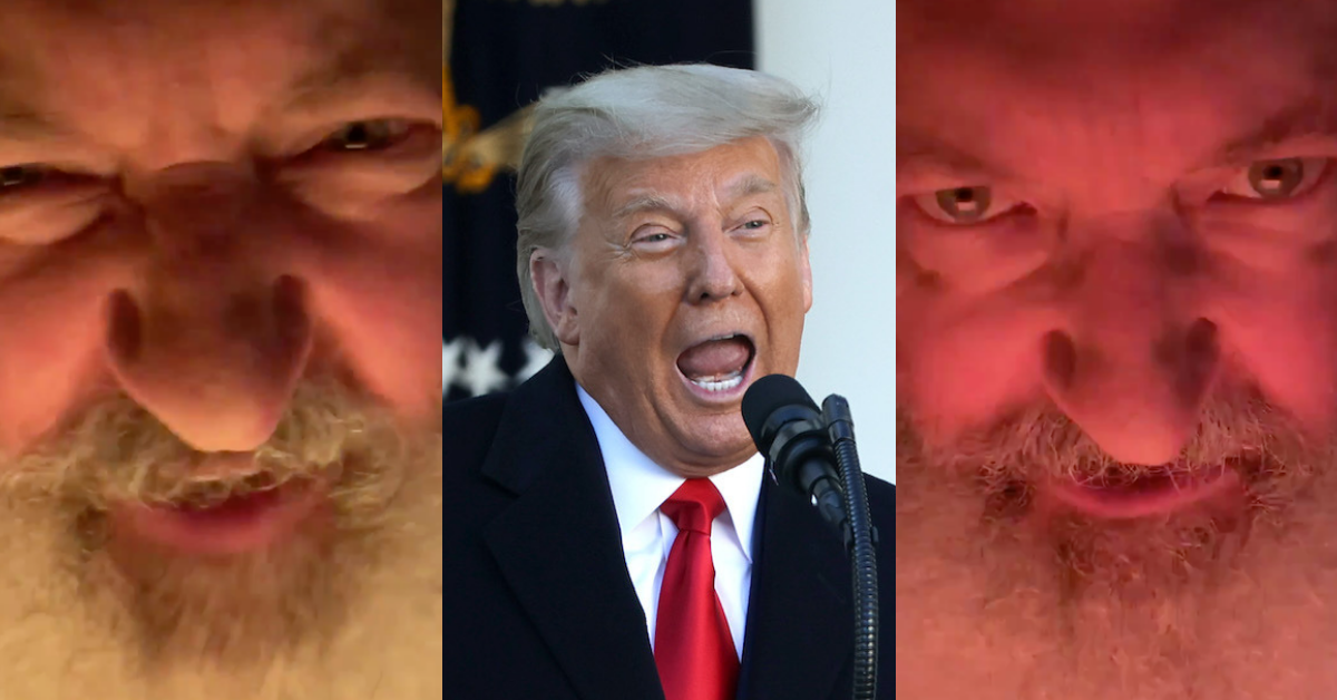 Trump Shares Bonkers Video of Randy Quaid Reciting Trump Tweet About Fox News 'Collapse'