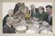 World leaders sit around the Thanksgiving table