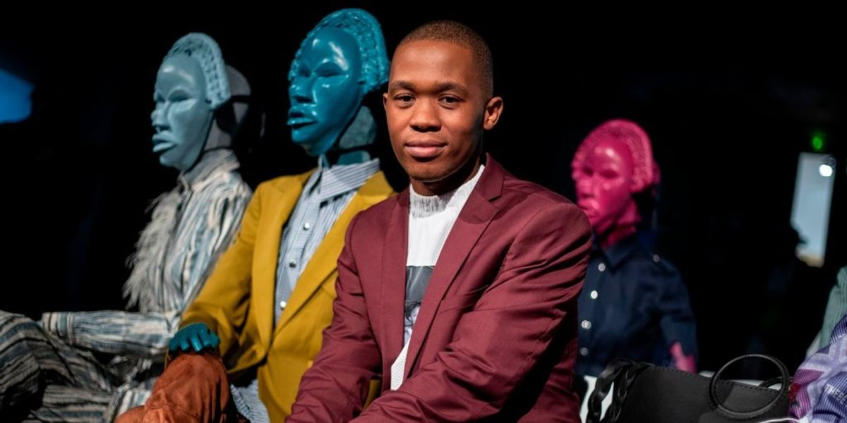 South African Designer Thebe Magugu Becomes International Woolmark Prize Finalist