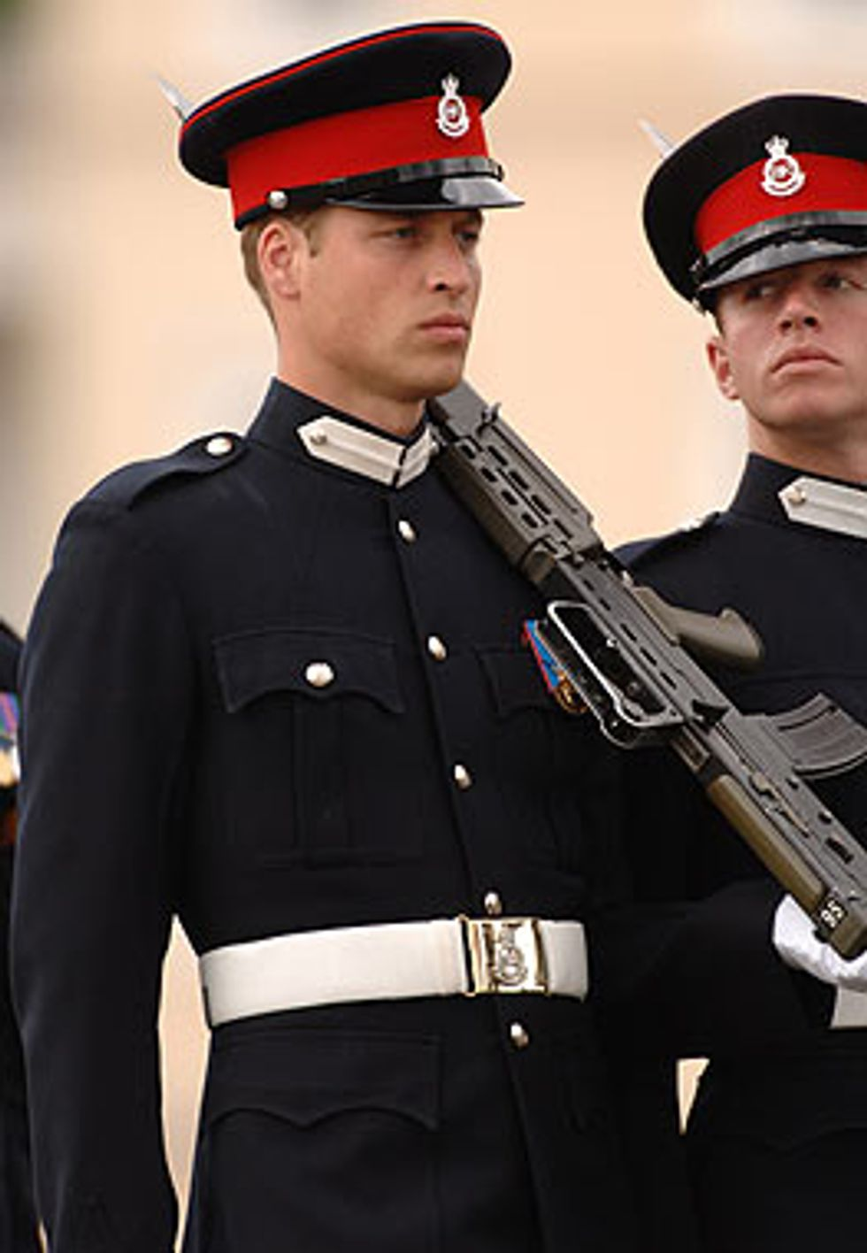 Hunky Prince William in Uniform