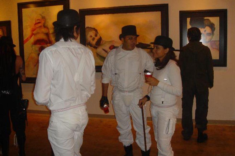 Marilyn Manson's Halloween Art Show