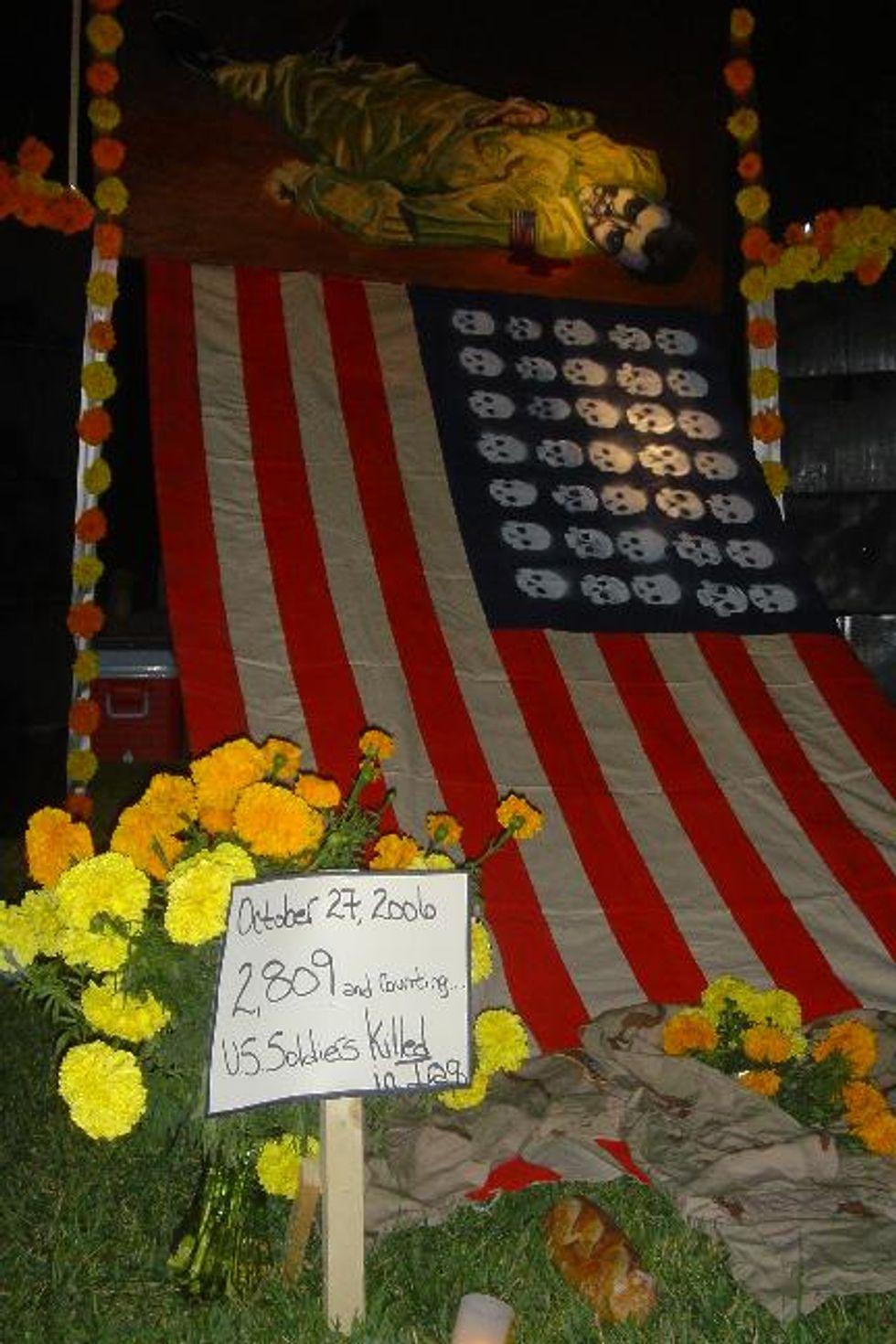 Iraq War Dead Altar